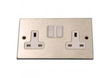 Aluminium UK Electrical Socket