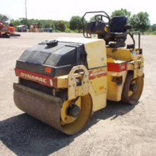 3 ton smooth drum roller