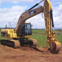 CAT 320D for hire