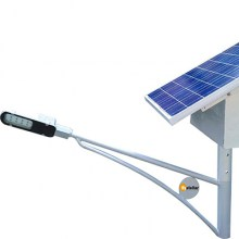 Solar Street Light - Battery on top