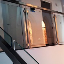rail clamp series glass balustrade