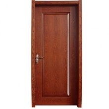 rectangular pattern wooden panel door