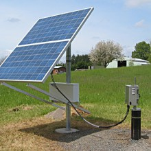 solar powered water pump system